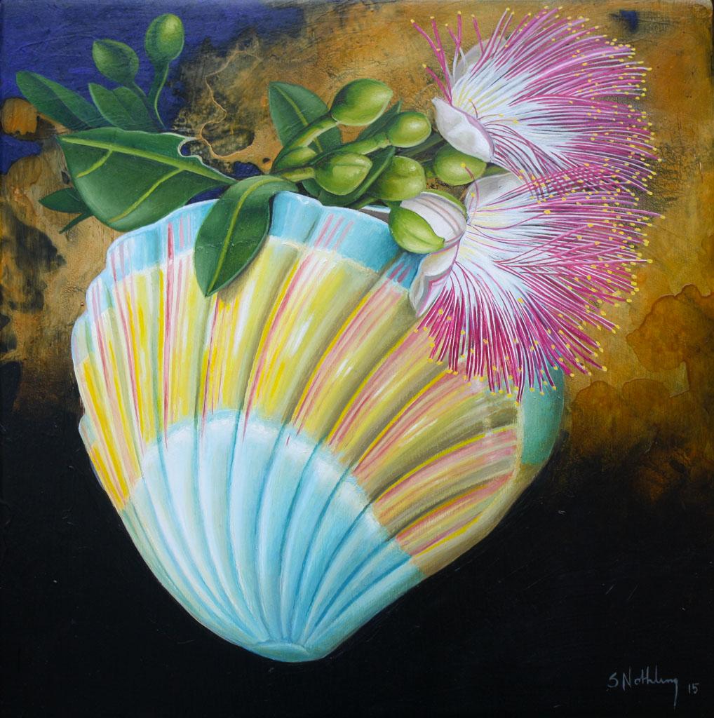 Woolloongabba art gallery peintures florales qui ne - Peinture qui ne coule pas ...